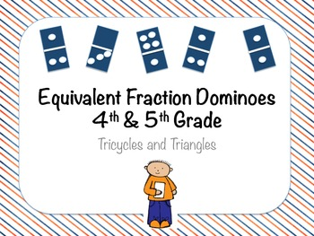 Equivalent Fraction Dominos