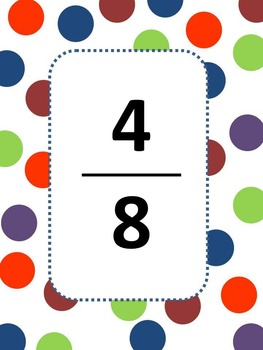 Fraction Game (Equivalent Fractions)
