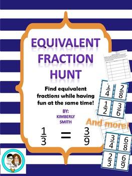 Equivalent Fraction Hunt
