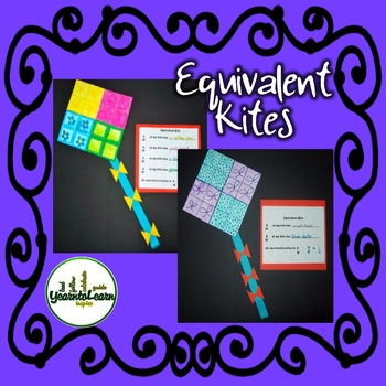 Equivalent Fractions Kite Art Project