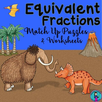 Equivalent Fractions Match Up {Puzzles & Worksheets}