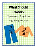 Equivalent Fraction Matching Activity