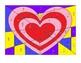 Equivalent Fraction Mosaic Valentine Heart