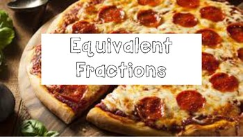 Equivalent Fraction Pizza