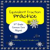 Equivalent Fraction Practice