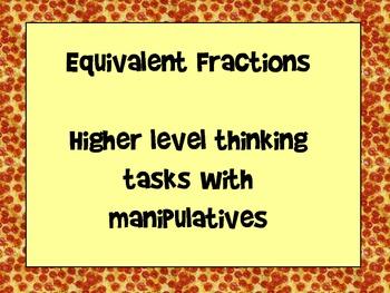 Equivalent Fraction Problem Solving with Manipulatives