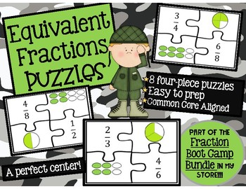Equivalent Fraction Puzzles