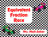 Equivalent Fraction Race FREEBIE