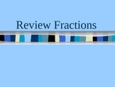 Equivalent Fraction Review Powerpoint