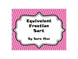 Equivalent Fraction Sort