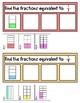 Equivalent Fraction Sorting Strips
