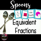 Equivalent Fractions Game - Spoons