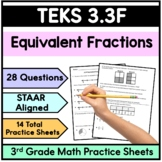 Equivalent Fractions- TEKS 3.3F