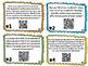 Equivalent Fraction QR Task Cards
