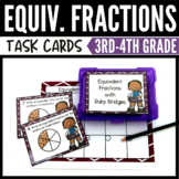 Ruby Bridges Equivalent Fraction Task Cards