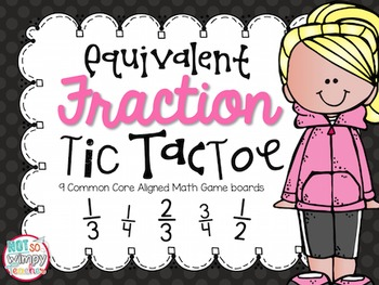Equivalent Fraction Tic Tac Toe Games