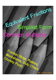 Equivalent Fraction Variety Pack