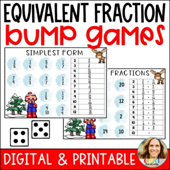 Equivalent Fraction and Simplest Form Bump