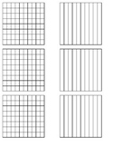 Equivalent Fraction grids