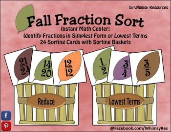 Fall Fraction Sort