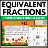 Equivalent Fractions Activity: Equivalent Fractions Game of Bingo!