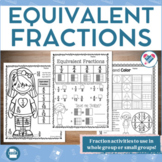 Equivalent Fractions Activities and Printables