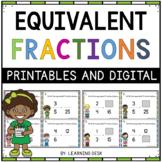 Equivalent Fraction Activities