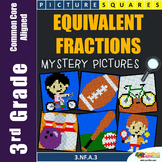 Equivalent Fractions 3rd Grade Fraction Worksheets Mystery