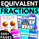 Equivalent Fractions - Fraction Worksheets Activities Games
