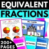 Equivalent Fractions 3rd Grade  - Worksheets Games Activities
