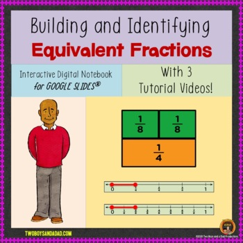 Equivalent Fractions for Google Drive®