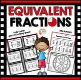 Equivalent Fractions 3rd grade - 4th grade