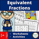 Equivalent Fractions Worksheets and Activities