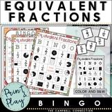 Equivalent Fractions Game Bingo