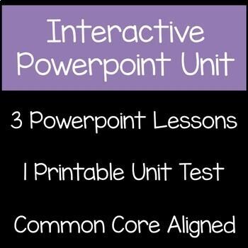 Equivalent Fractions Math Unit 3rd Grade Common Core