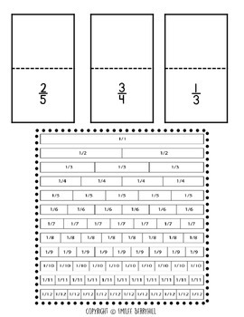 Equivalent Fractions Journal & Exit Tickets - 4NF1