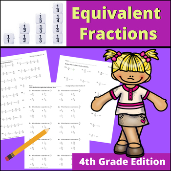 Equivalent Fractions | 4th Grade