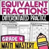 Equivalent Fractions Worksheets