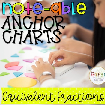 Equivalent Fractions Activities for your Interactive Notebooks
