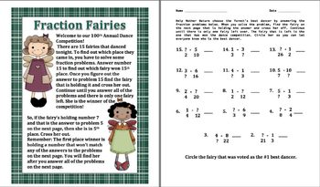 Equivalent Fractions Activity