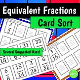 Equivalent Fractions Sort Activity