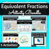 Equivalent Fractions Activity Bundle