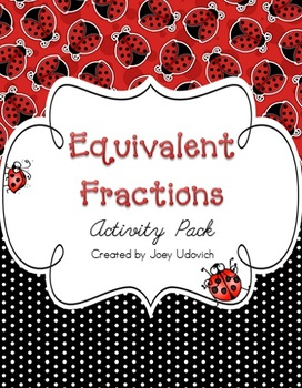 Equivalent Fractions Activity Pack