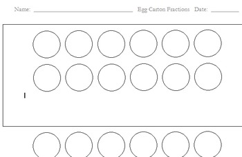 Equivalent Fractions: An Egg Carton Model