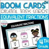 Equivalent Fractions BOOM CARDS™ Digital Task Cards