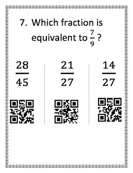 Equivalent Fractions BYOD Activity