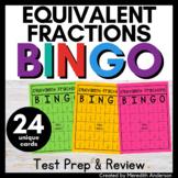 Equivalent Fractions Game Activity - Bingo