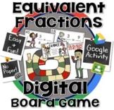 Equivalent Fractions Board Game- 100% DIGITAL ~ Google Classroom