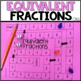 Equivalent Fractions Board Game