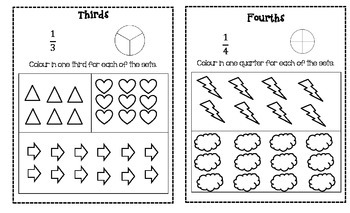 Equivalent Fractions Booklet
